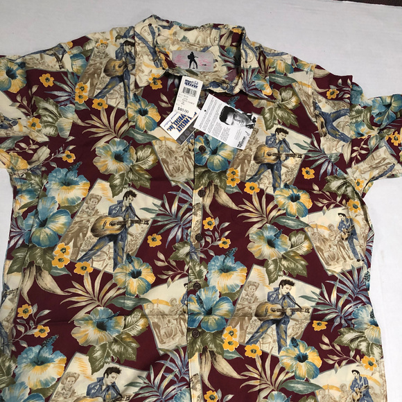 bf2ebfd7 reyn spooner Shirts | Nwt Elvis Presley Collectible Shirt | Poshmark